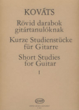 Short Studies for Guitar 1. /8883/