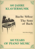300 Years of Piano Music - The Sons of Bach /7517/