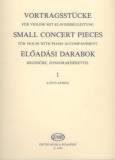 Small Concert Pieces 1. - For Violin with Piano Accompaniment /4535/