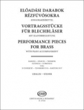 Performance Pieces for Brass with Piano Accompaniment /13114/