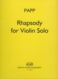 Rhapsody for Violin Solo /14269/