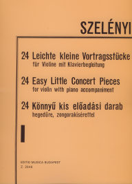 24 Easy Little Concert Pieces 1. - For Violin with Piano Accompaniment /2648/