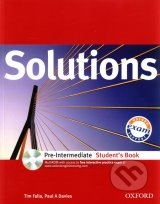 Solutions - Pre-Intermediate - Student's Book with MultiROM