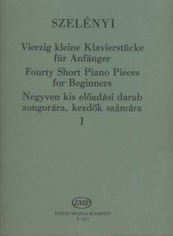 Fourty Short Piano Pieces for Beginners 1. /2577/
