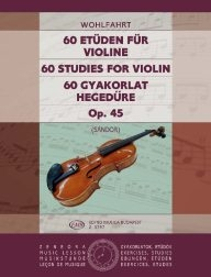 60 Studies for Violin - Op. 45 /3797/