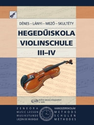 Mező: Violin Tutor 3-4. /5245/