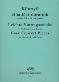 Easy Concert Pieces for Violincello and Piano /8295/