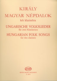 Hungarian Folksongs for Two Clarinets /8876/