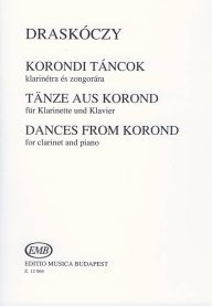 Dances from Korond for Clarinet and Piano /12064/