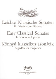 Easy Classical Sonatas for Violin and Piano /13329/