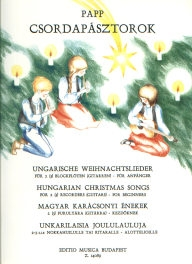 Hungarian Christmas Songs for 2 (3) Recorders (Guitars) - for Beginners /14089/