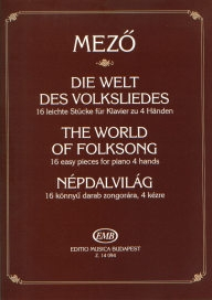 The World of Folksong - 16 Easy Pieces for Piano 4 Hands /14094/