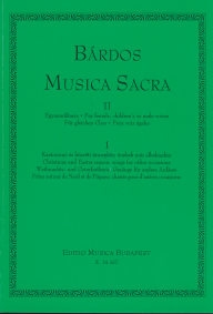 Musica Sacra for Female, Children's or Male Voices II/1 /14257/