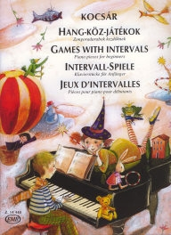 Games With Intervals Piano  - Pieces for Beginners /14448/