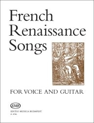 French Renessaince Songs for Voice and Guitar /8786/